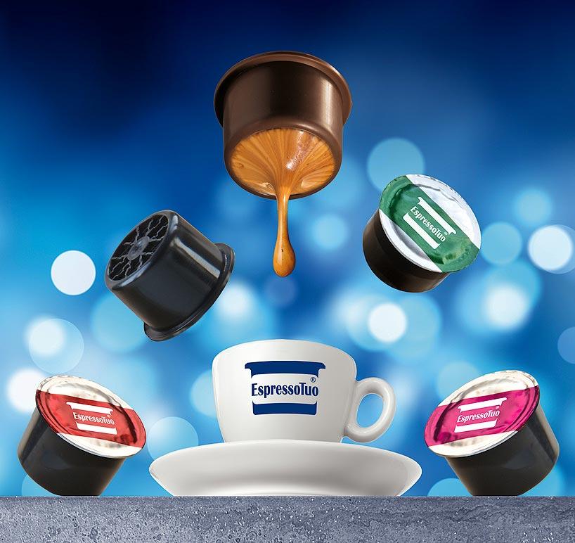 Immagine digitale tazzina caffe
