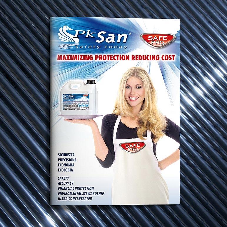 Pagine Folder prodotti pulizia