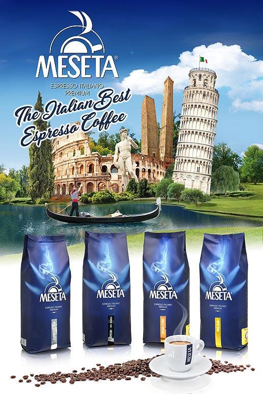 Immagine ditigale italia caffe