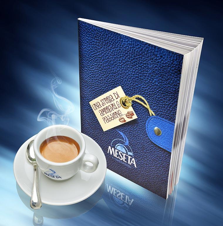 pagine brochure caffe