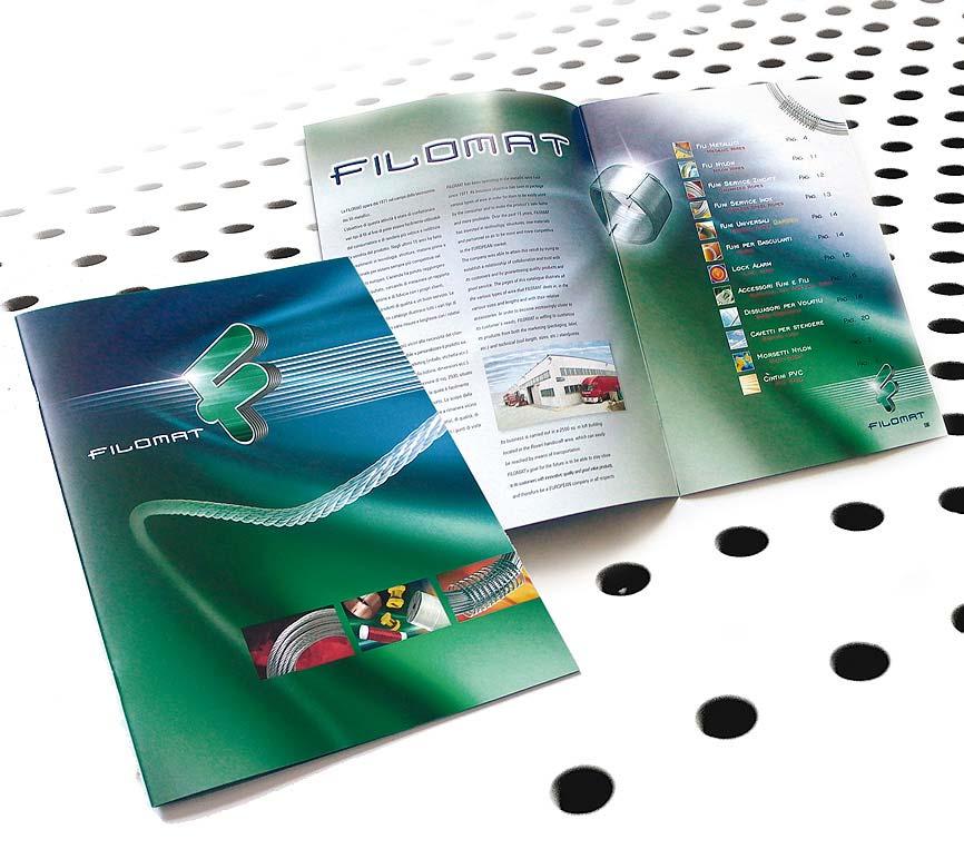 Brochure Design su sfondo chiaro