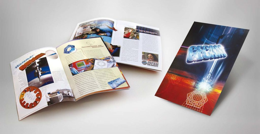 Brochure per azienda di fustellatura
