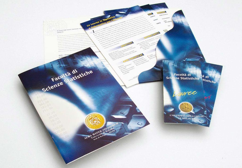 Folder, Carpetta, e leaflet Corsi matematica