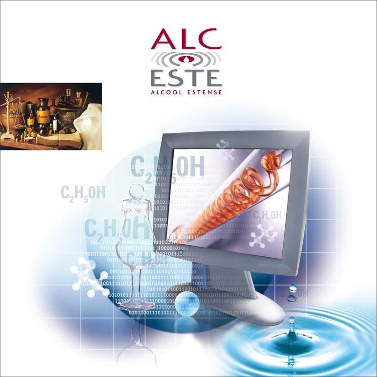 Copertina brochure di prodotti chimici