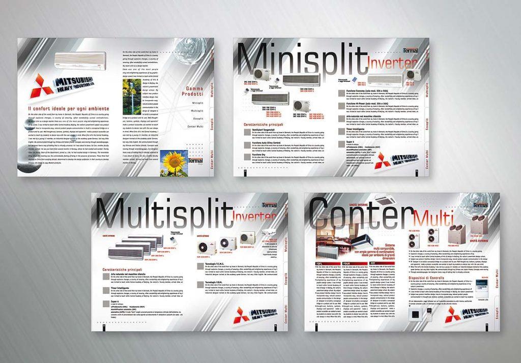 Pagine Brochure di Climatizzatori
