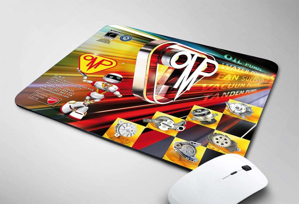 Studio Grafico Illustrazione Digitale per Mouse Pad