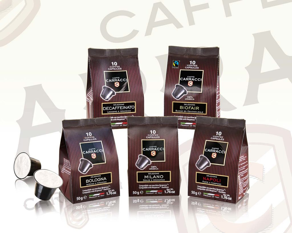 Sacchetti Capsule Caffè Carracci