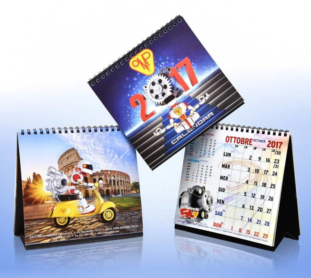 Studio Grafico Illustrazioni Digitali per Calendario
